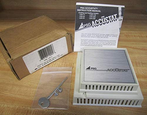 PSG CONTROLS LAH-11 1.2AMP, Heat/Off/Cool, 24-30VAC, Single Stage, ACCUSTAT, Discontinued by Manufacturer, Thermostat