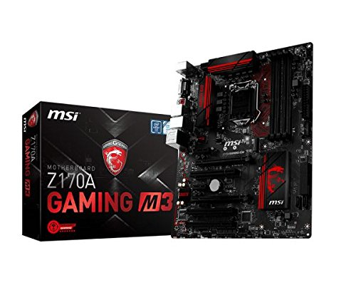 MSI Z170A Gaming M3 - Placa Base (Socket LGA 1151, 4 x DDR4 3600(OC) hasta 64 GB)