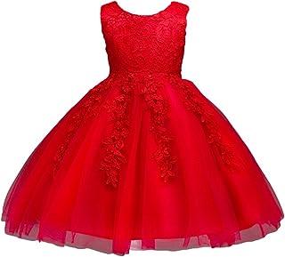 aa7be3dfdc8 WanYang Robe De Soirée Filles Princesse pour Enfant Fleur Fille Princesse  Costume De Cérémonie Spectacle De