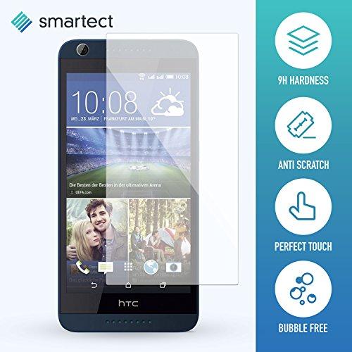 smartect Panzerglas kompatibel mit HTC Desire 626g - Bildschirmschutz mit 9H Festigkeit - Blasenfreie Schutzfolie - Anti Fingerprint Panzerglasfolie