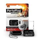 Alpine PartyPlug Tapones para los oídos para Fiestas, festivales de música y conciertos - Gran...