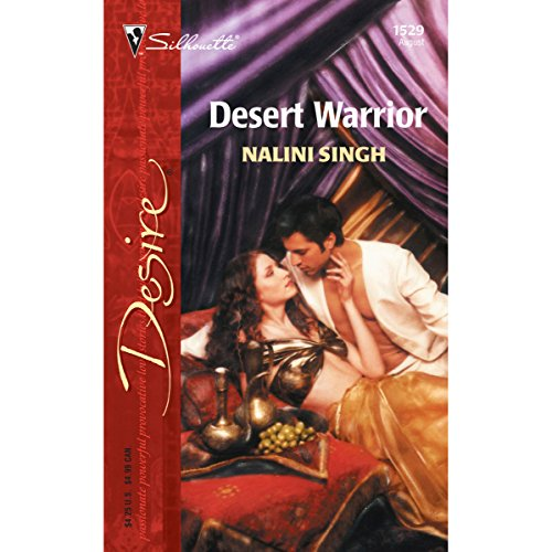 Desert Warrior audiobook cover art