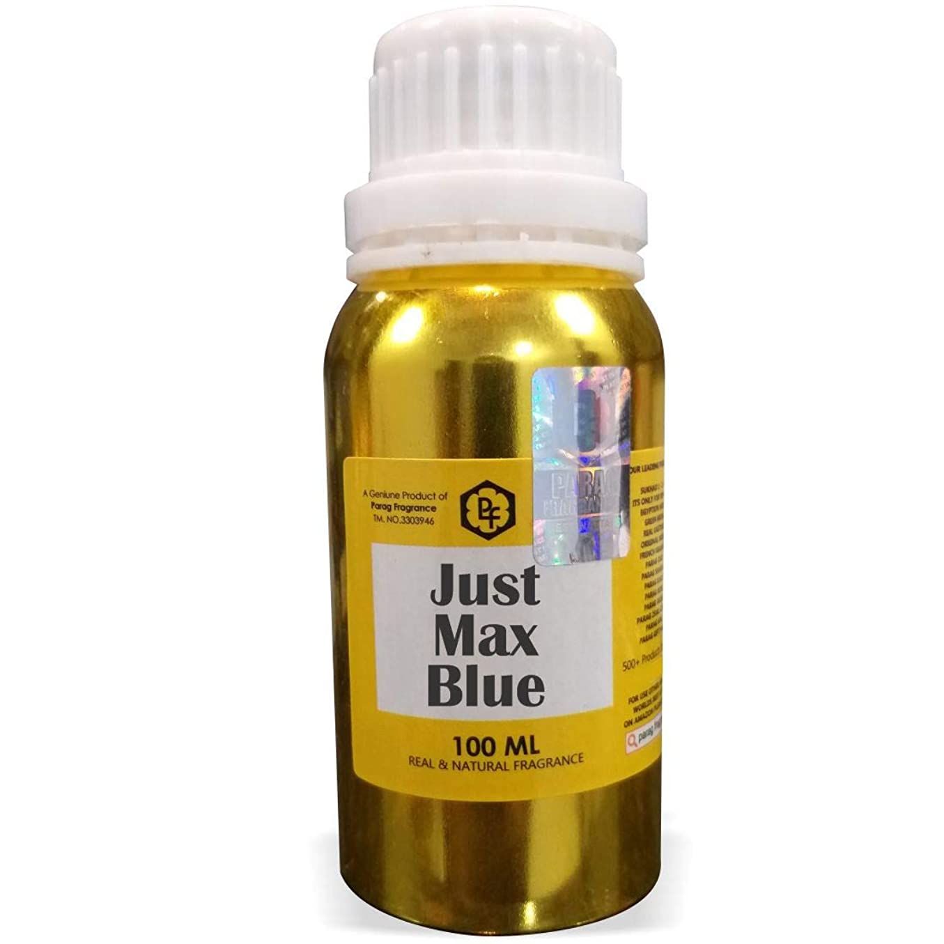 スイング寄付自殺Paragフレグランスただ、マックスブルーアター100ミリリットル(男性用アルコールフリーアター)香油| 香り| ITRA