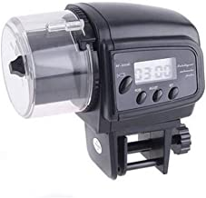 Sunlera Alimentador automático de Pescado Peces de Acuario Tanque Comederos automáticos Función de Temporizador, Alimentación LCD Indica dispensador