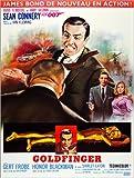Poster 60 x 80 cm  James Bond 007 - Goldfinger  fr