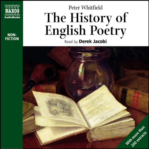The History of English Poetry audiobook cover art