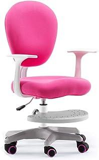 Silla de estudio para niños con elevador móvil, silla de escritorio ajustable, escritorio y escritorio y silla para computadora, silla giratoria para mesas de diferentes alturas, familia