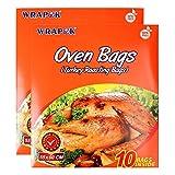 WRAPOK Large Turkey Roasting Bag...