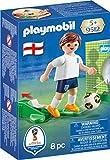 Playmobil Fútbol- Jugador Inglaterra Muñecos y Figuras, Multicolor,...