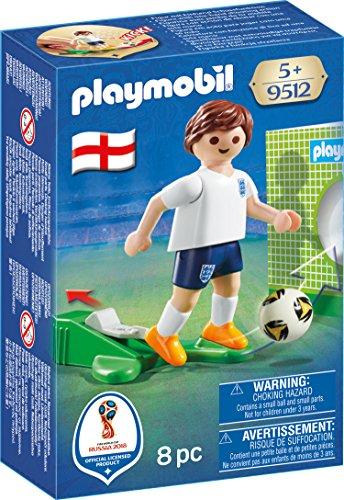Playmobil Fútbol- Jugador Inglaterra Muñecos Figuras
