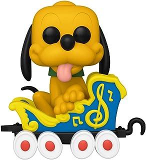Funko Pop! Disney: Disneyland Resort 65th Anniversary – Pluto on the Casey Jr. Circus Train Attraction Vinyl Figure – Funk...