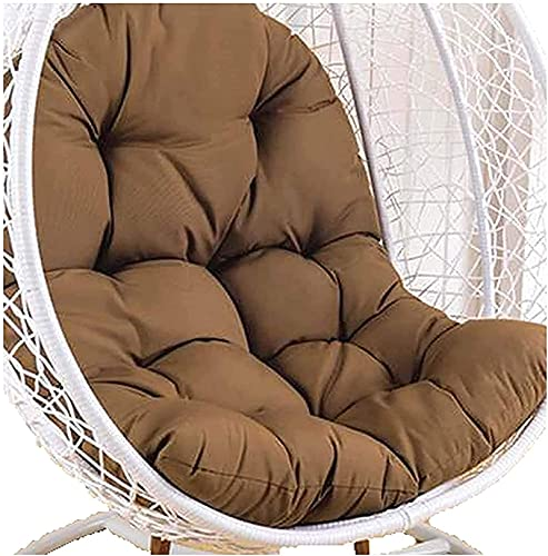 LCYZ Huevo Sillon Cojines, papasan Egg Chair Cushion, para Silla Columpio Ratán para Exterior, Patio, Jardín, Playa, 9 Colores, no Incluye sillas