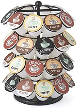 Nifty Solutions 40 Capacity K-Cup Holder Coffee Pod Carousel