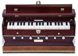 MAHARAJA Harmonium 7 Stopper - 39 Keys - Comes with Bag - Tuned to A440 - Blemished - Mahogany Color (GSB-42)