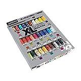 Pébéo – Huile Fine XL Étui 30 Tubes de 20 ML Assortis et Pinceau – Peinture Huile Coffret et...