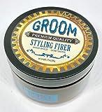 Groom Premium Quality Forming Cream w/Medium Hold & Medium Shine. 3.75oz | 106g (Styling Fiber)