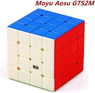 CuberSpeed Moyu Aosu GTS2 M stickerless Bright Speed Cube Moyu Aosu GTS V2 Magnetic Cube Puzzle