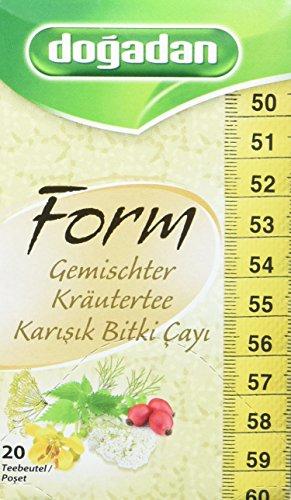 Dogadan Formtee Kräuter, 12er Pack (12 x 40 g)