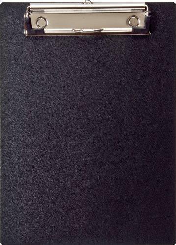 ナカバヤシ クリップボード A5 E型 バインダー ブラック QB-A501-D