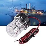 Feu de Navigation Bateau LED 360 Degrés 12V Lampe d'ancre de Navigation Marine Yacht