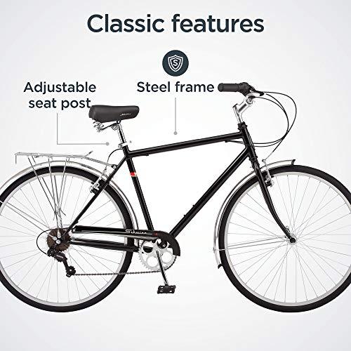 51p74ApeWaL。 SL500 Schwinn Discover Hybrid Bike for Men and Women