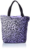 Only ONLGIA Shopper Canvas Bag, Mujer, Orchid Bloom/AOP: impresión Negra, Einheitsgröße