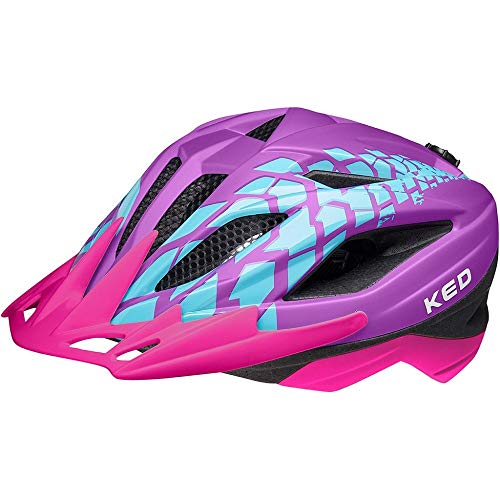 KED Street Jr. Pro Helm Kinder Rave matt Kopfumfang M | 53-58cm 2021 Fahrradhelm