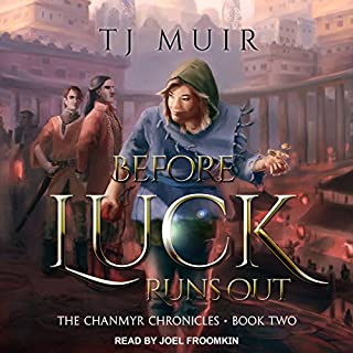 Before Luck Runs Out audiobook cover art