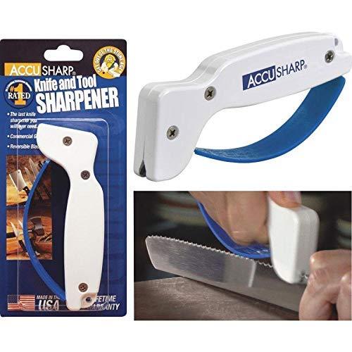 Accusharp Knife Sharpener Multi Lingual Packaging