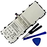 Powerforlaptop Replace Battery + Repair tools for Samsung Galaxy Note 10.1 LTE,Galaxy Tab 2 10.1,Galaxy Tab,GT-P5100,GT-P5110,GT-P5113,GT-P5113TS GT-P7510 SCH-I915,SCH-i925 SCH-i925U,SGH-I497,SGH-T859
