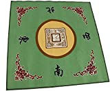 31.5' Gaming Tabletop Cover - Slip Resistant Mahjong Game / Poker / Dominos Card Tablecover Table Top Mat (Various color)
