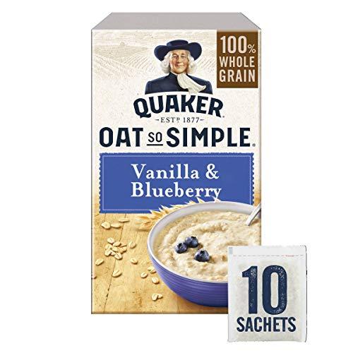 Oat So Simple Vanilla & Blueberry 2 X 10 x 33,2g