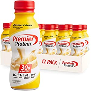 This smooth, delectable shake helps get you the protein your body needs with bananas and cream taste; Winner of American Masters of Taste Gold Medal 30g of protein to help curb your hunger, as a mid-day snack or for post workout recovery; includes al...