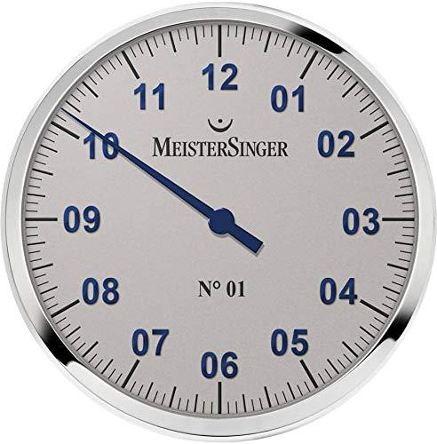 MeisterSinger wall clock - 39cm - WUME01B Wanduhr