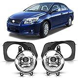DLAA Fog Lights Compatible with Toyota Corolla Axio 2006 2007 2008 2009 2010 2011 2012