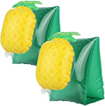HANMUN Pineapple Inflatable Arm Floats for Toddlers Kids Baty Floatation Sleeves Floats Tube Water Wings Swimming Floats ¡