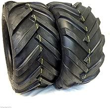 Deestone TWO 16x6.50-8 4ply 16x6.50x8 Tractor Lug Ag Tire 16x650-8 16x650x8 2 Tires Pair