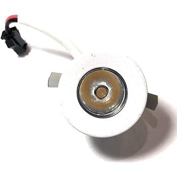 Eurostarled faretto led segnapasso da incasso in acciaio spazzolato1-3w 12V//220V