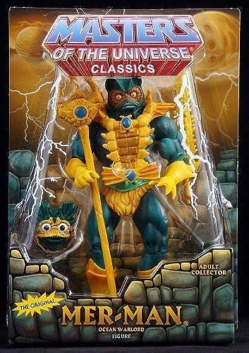 marcas de moda HeMan Masters of the Universe Universe Universe Classics Exclusive Action Figure MerMan by He-Man  la mejor selección de