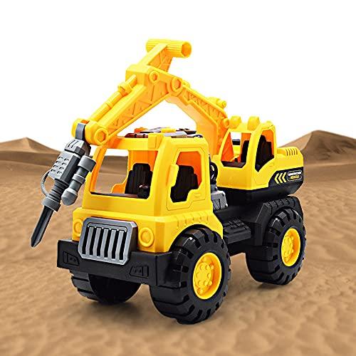 Vehículo de construcción Carrier Toy - Pull Back Cars - Construction Toys - Beach Car Toys - Camiones de Juguete para niños pequeños - Gift for Kids Boys Girls Best Gifts