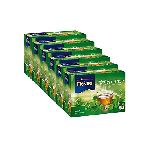 Meßmer Pfefferminze 50 Beutel 6er Pack