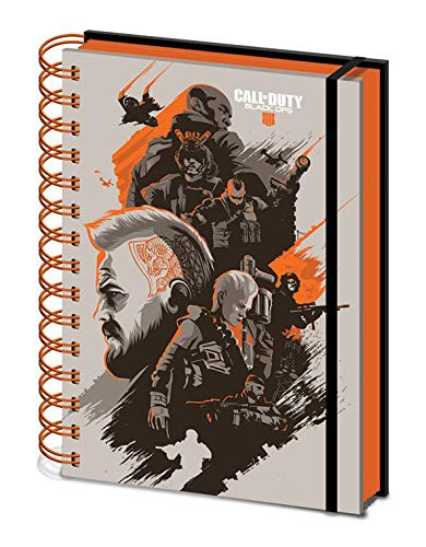 Notebook Pyramid Call of Duty Black Ops 4 - Spiral Wiro