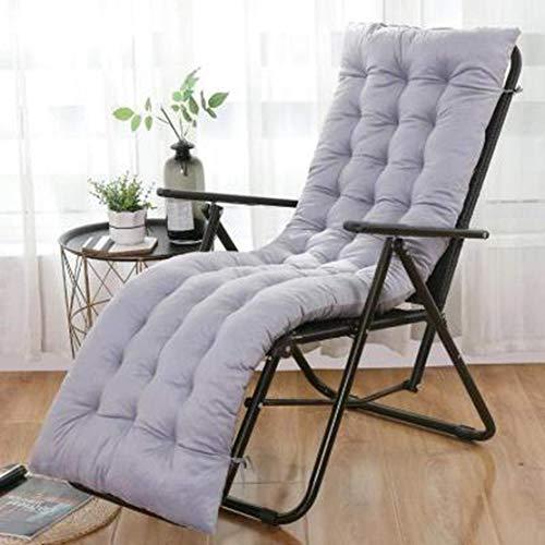 JGHF Cojín de color sólido suave y cómodo para silla de oficina, cojín de silla reclinable, cojín largo, varios tamaños disponibles (estilo 24 sin silla, 48 x 120 cm)