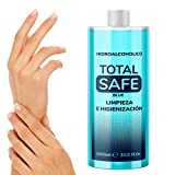 Total Safe 1000ml Blue | Ideal para una higiene profunda de manos - Hidroalcoholico Liquido