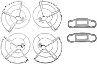 新 プロペラプロペラ/ DjiMavicミニドローンプロペラガード用フィット4726プロペラウィングファンカバー/ Mavicミニアクセサリー用フィット(カラー:2ペアプロペラ付き) (Color : With Grey Fixer)