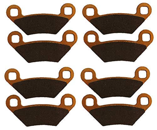 Polaris Sportsman 850 Ceramic Brake Pad Set 2009-2019 Front & Rear