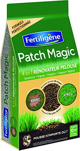 avis gazon de regarnissage professionnel Rénovateur de pelouse COMPLETE Patch Magic 4 en 1 sac 7 kg