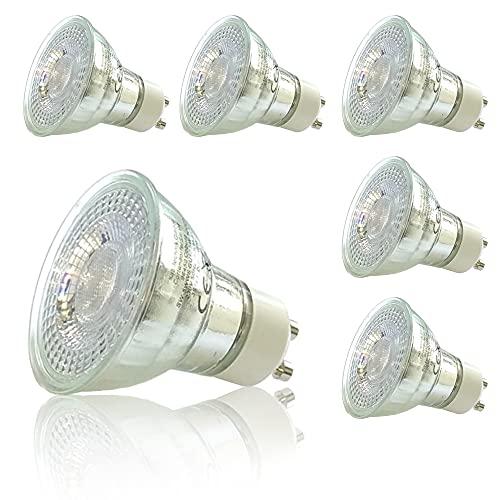 sweet-led Lampe 6er 3 step dimming 5W 380 Lumen, 3000K, EEK A+, GU10 LED dimmbar Reflektor, Dimmen ohne Dimmer (6er-Warmweiß)
