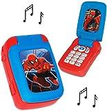 alles-meine.de GmbH Handy mit Sound -  Spider-Man  - für Kinder / Jungen & Mädchen - Auto -...