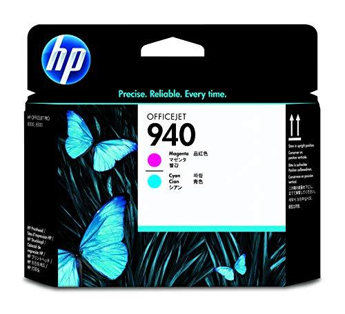 HP 940 C4901A, Cian y Magenta, Cabezal Original, para impresoras HP OfficeJet Pro 8000, 8500, 8500a A910a, 8500a Plus A910g, 8500a A909 y 8000 Enterprise